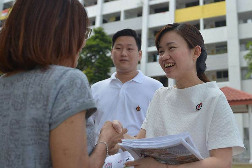Candidate stirs up storm with 'motherhood' remark:The National Solidarity Party's MacPherson candidate Cheo Chai Chen stirred up a firestorm after a comment on his PAP opponent Tin Pei Ling (above right). He said that her new status as a mother was