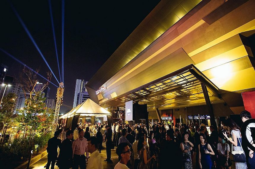 Burger bar Fat Boy's (above) has opened five outlets in Kuala Lumpur since 2012. However, Massive Collective, which operates restaurant Ohla (left) in KL, decided to close nightclub Vertigo - its first venture in KL - last year after a three-year run