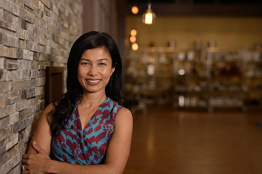MasterChef Asia judge Audra Morrice gets butterflies in her stomach watching contestants cook on the show.