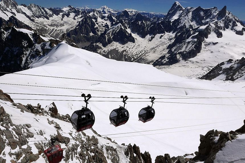 For best views, take a cable car across the French Alps, says Ms Gauri Garodia (above).