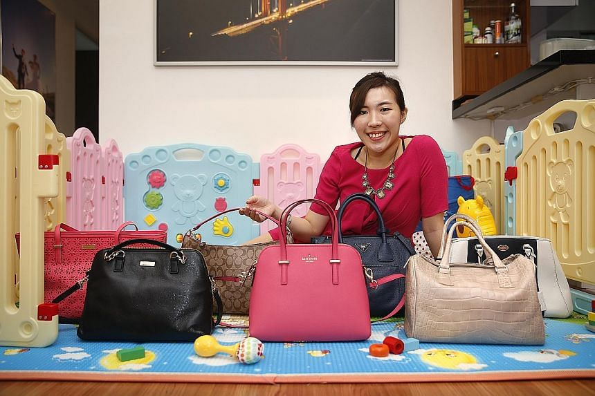 Ms Mabeline Xie's business venture has grown into a luxury bags and accessories e-commerce platform and she is trying to carve a niche in the second-hand luxury goods market.