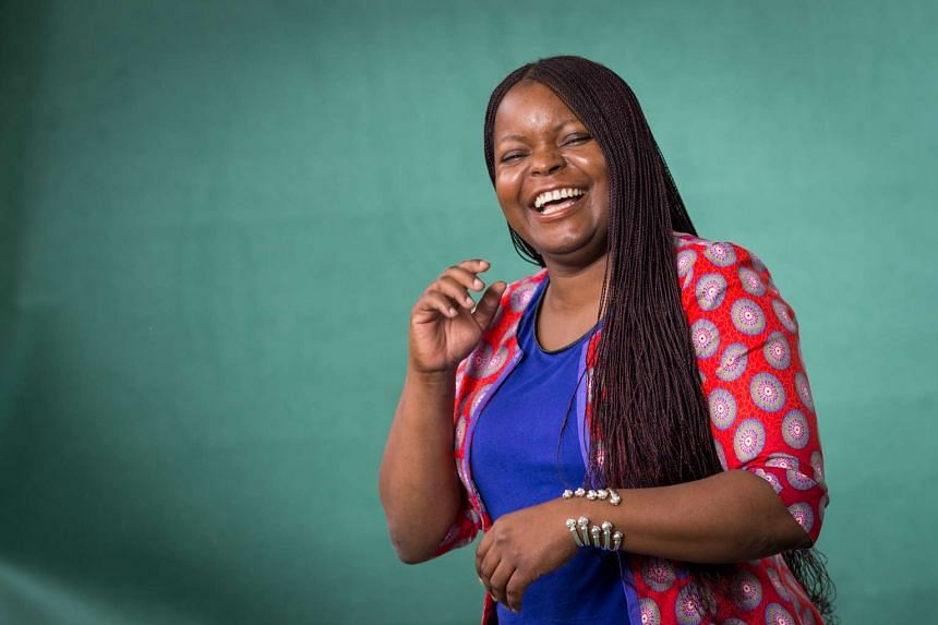 Petina Gappah (above) weaves Zimbabwe's troubled history into the background of the protagonist's gripping history in The Book Of Memory.