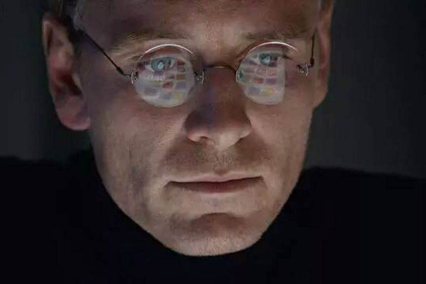 Michael Fassbender as Steve Jobs in the biopic about Apple Inc's co-founder.