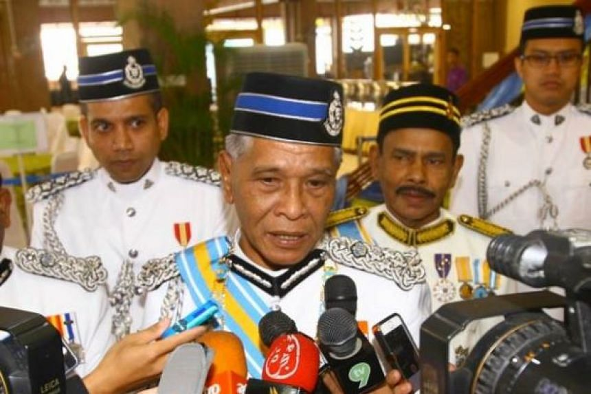 """alaysian Deputy Inspector-General Noor Rashid Ibrahim (pictured) said that the police would not allow a planned """"Red Shirt"""" rally to take place because of safety concerns."""