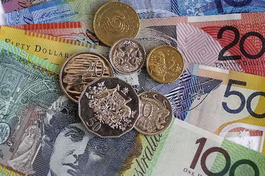 The Australian dollar advanced 0.4 per cent to 69.35 US cents after dropping to 68.96 cents, the weakest level since 2009.