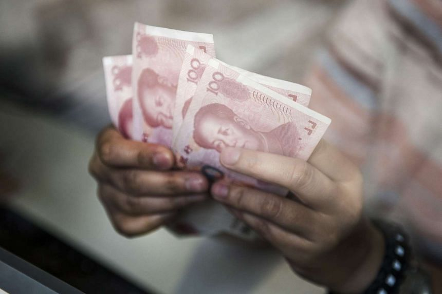 China's foreign exchange reserves shrank by US$93.9 billion (S$133.6 billion) in August to US$3.557 trillion, according to central bank data.