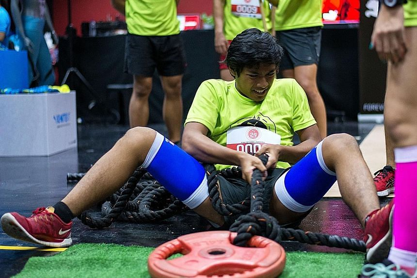 The first Puma 24-hour Trainathon tested the individual and collective skills of each team.