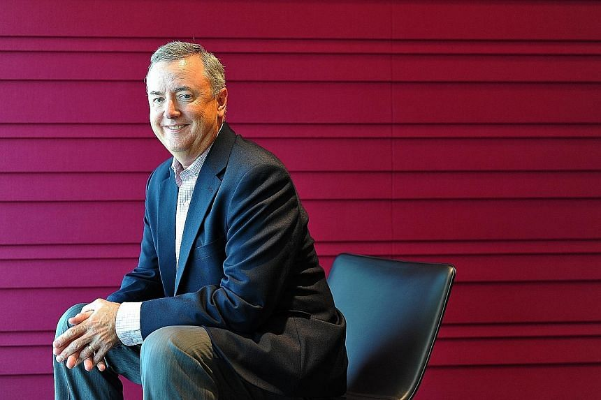 Under Mr Thomas Falk's leadership, Kimberly-Clark has grown sales to US$20 billion last year, while incorporating a more sustainable business model.