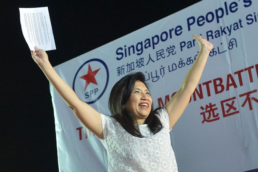 Mrs Chong-Aruldoss said an MP must be more than a glorified estate manager.