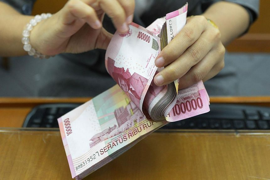 Indonesia's currency has plunged 13.2 per cent this year, Asia's worst performing after Malaysia.
