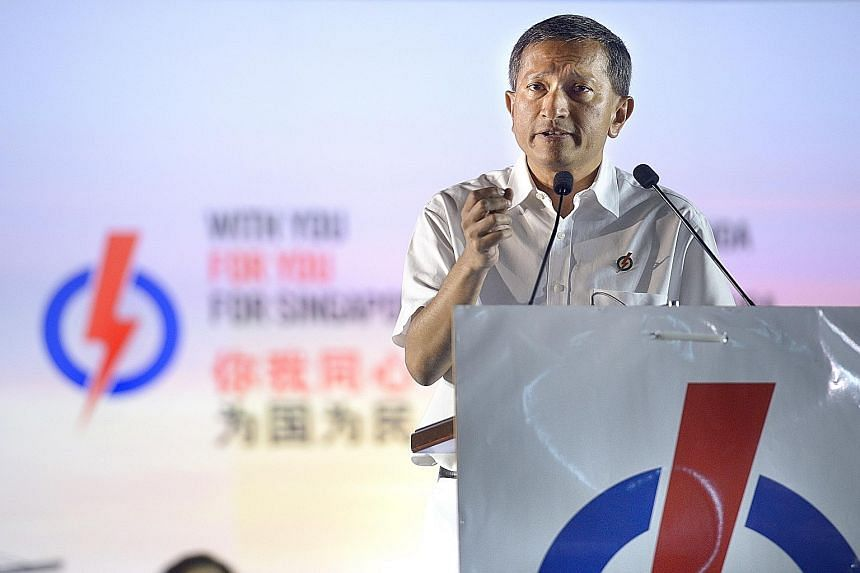 Dr Vivian Balakrishnan said that the PAP takes politics seriously but some people think of elections as a game, where some win and some lose, or as entertainment or a debate.