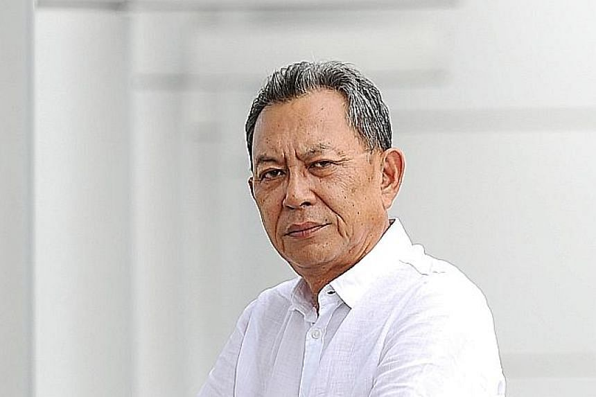 Former chairman Bert Choong (above) still holds 25 per cent of shares in furniture company Nobel Design.
