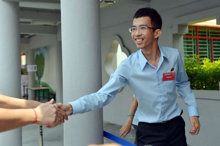 Workers' Party's MacPherson candidate Bernard Chen.