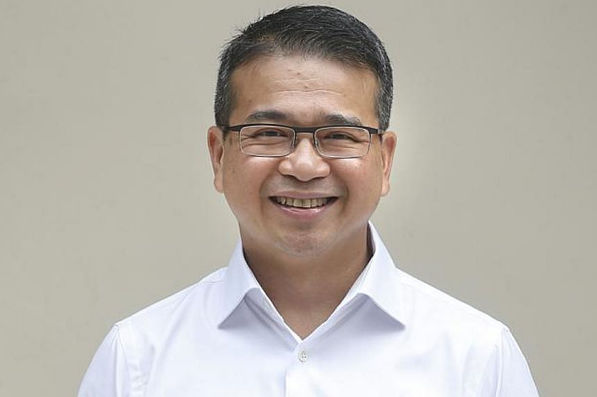 PAP's candidate for Marine Parade GRC Edwin Tong.