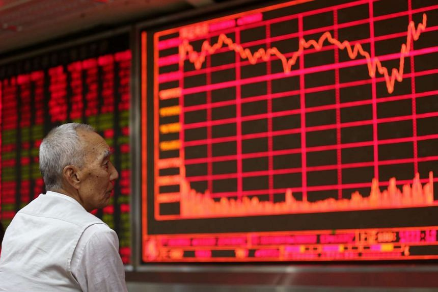 If the CSI 300 index of 300 major listed companies rises or falls five per cent, authorities will suspend trading on both the Shanghai and Shenzhen exchanges for 30 minutes.