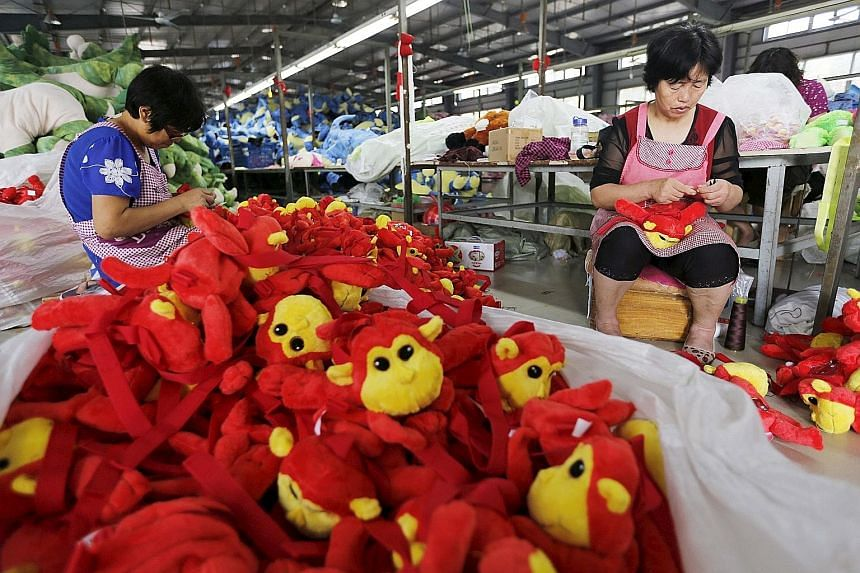Much of China's imports are commodities and raw materials going into factories that turn them into goods for sale overseas, so the fall in imports could be an ominous sign for exports.