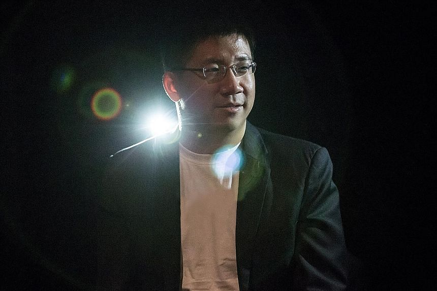 Musician and composer Chok Kerong has assembled an 11-strong big band that includes a woodwind section and a string quartet for his shows.