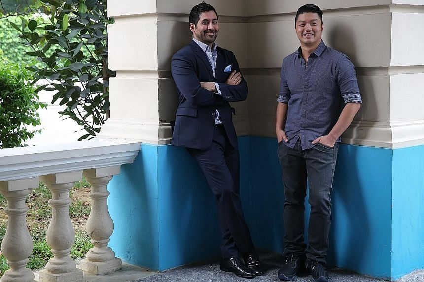 Owners Raj Datwani (far left) and Alex Chew are spending a seven-figure sum to give the space where Bacchanalia used to occupy an overhaul.
