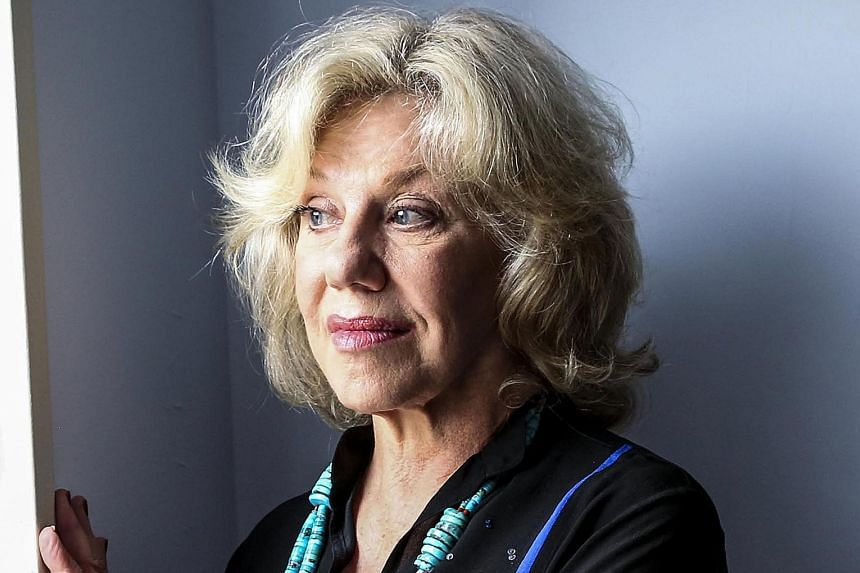 Author Erica Jong (above) takes on the topic of sex between older adults in her new novel Fear Of Dying (above)