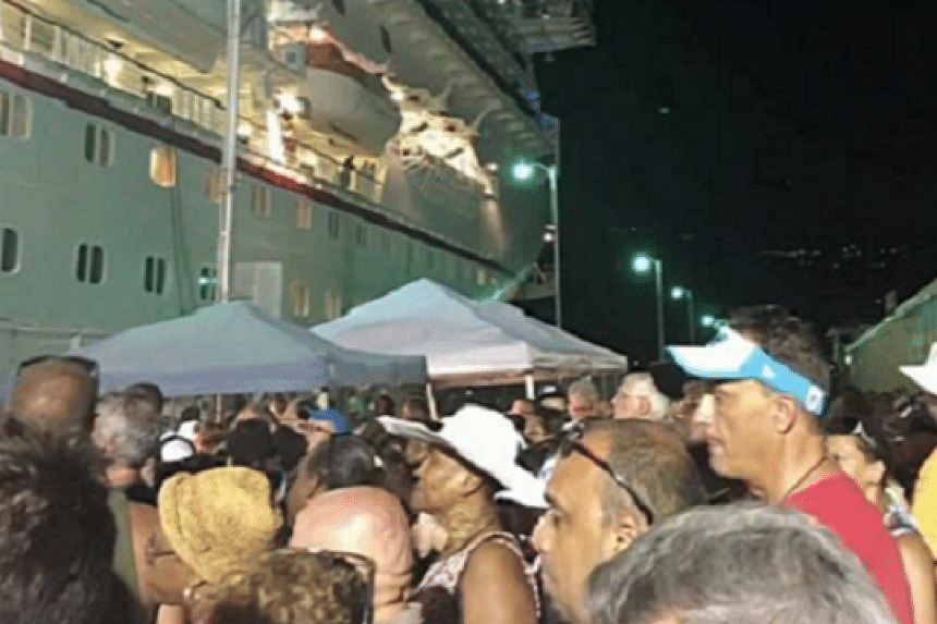 A fire on a Carnival Cruise has left passengers concerned they will be docked for days.
