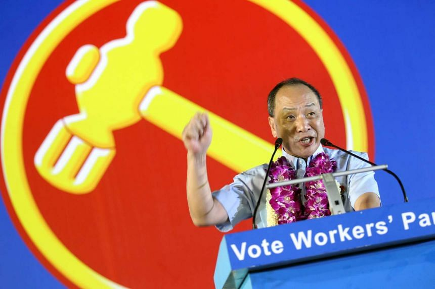 Mr Low Thia Khiang, secretary-general of WP, devoted a Mandarin speech for a fiery retort to claims that AHPETC was in financial crisis, during the campaign rally in Jalan Besar.