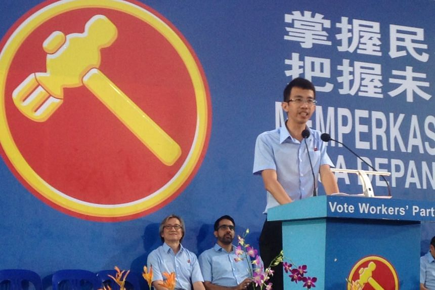 "Workers' Party's (WP) candidate Bernard Chen, who opened the WP's final rally at Bedok Stadium, said he believed young Singaporeans could take part in the political process and ""do it well""."