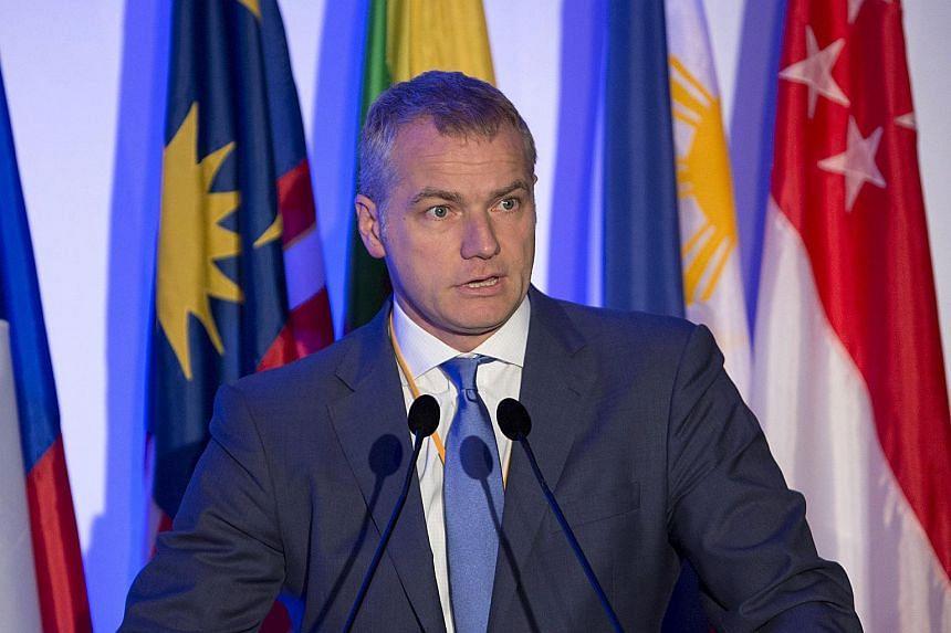 Deutsche Boerse chief executive Carsten Kengeter.