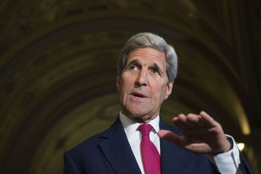 The US is looking at the number of refugees it can take in, said US Secretary of State John Kerry.
