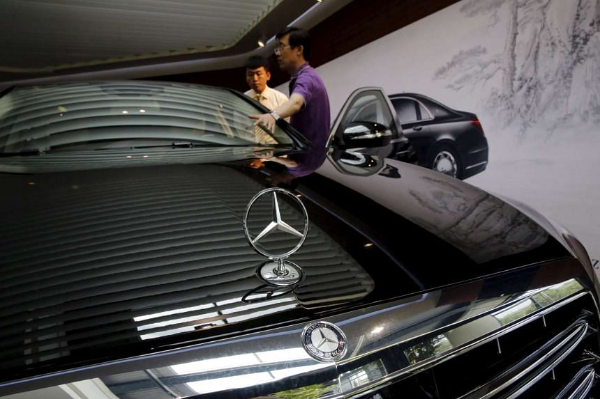Mercedes Beats Audi To Take Second Place In Luxury Car Sales - Audi luxury car