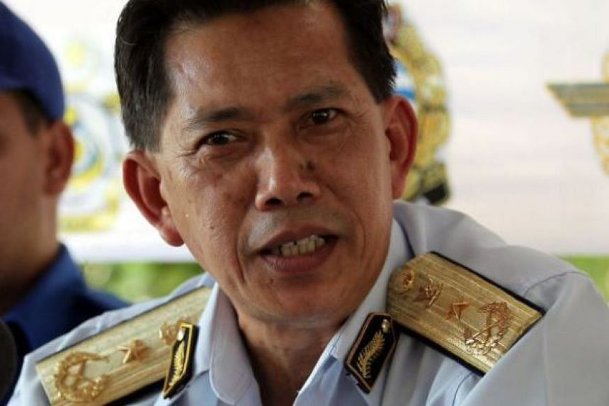 First Admiral Ismaili Bujang Pit (pictured), Sarawak's coast guard chief, said that the MV Sah Lian, feared to have been hijacked by pirates, had actually had engine trouble and was found drifting in the South China Sea.