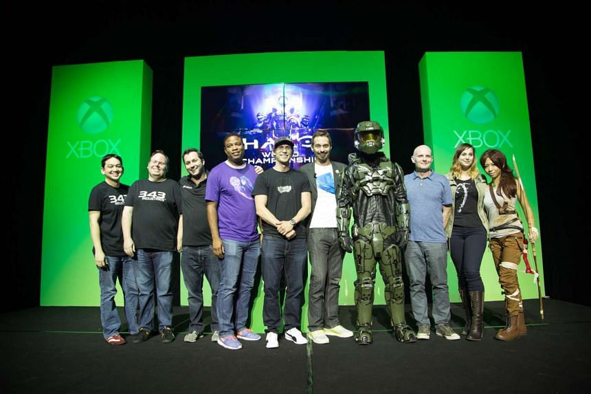 Fans at the Xbox FanFest on Sept 9, 2015. PHOTO: MICROSOFT SINGAPORE