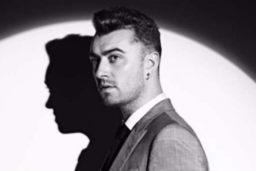 British singer Sam Smith had vocal cord surgery this year and said he found the song difficult to sing.