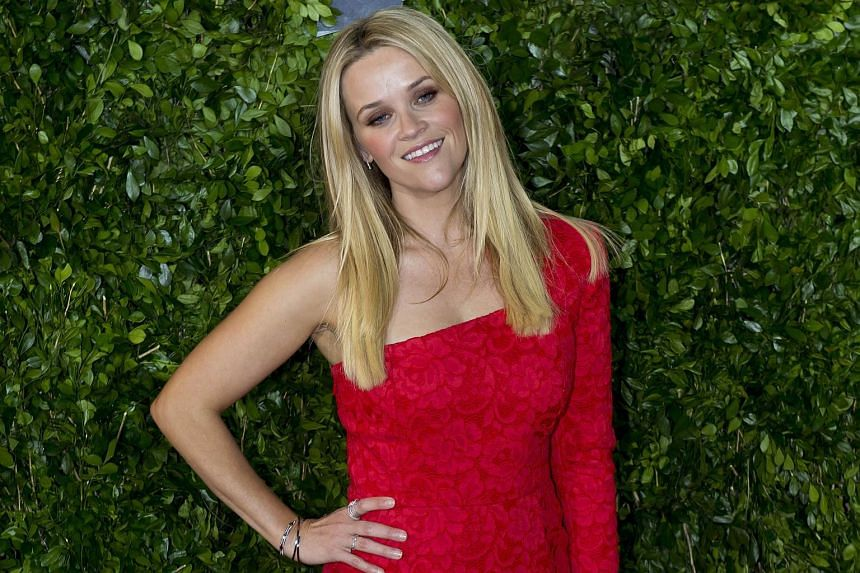 Actress Reese Witherspoon at the premiere of the film Hot Pursuit in Mexico City on June 22.