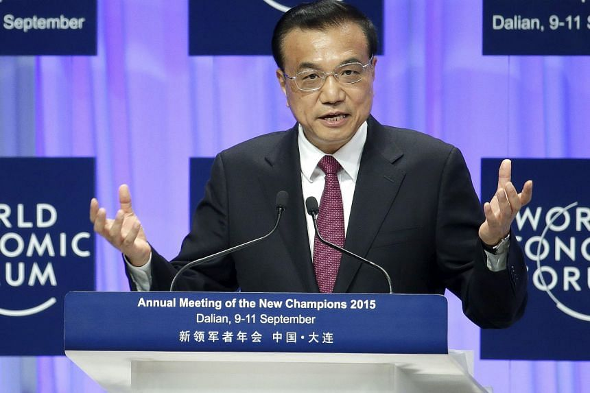 """PM Li Keqiang said that """"China will not see a hard landing"""", a comment aimed at increasing confidence in China, which had been shaken after a rout of Chinese shares and yuan devaluation last month triggered a global sell-off in commodities, equities"""