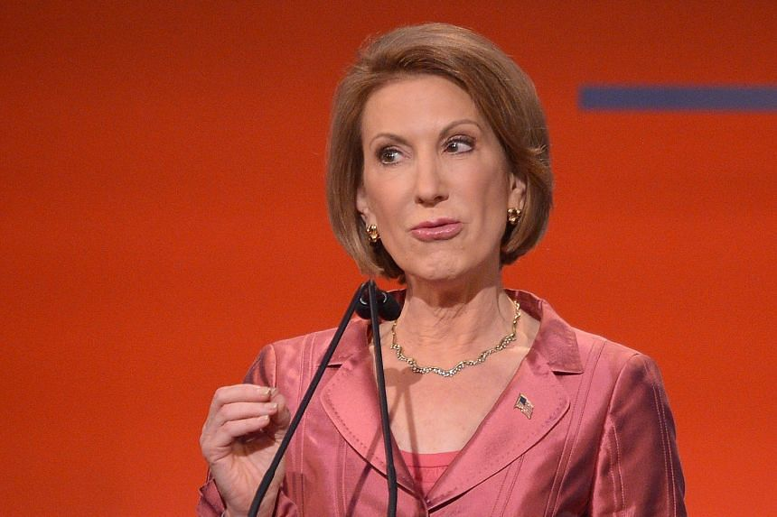 Mr Donald Trump's published taunt was not the first time he has mocked Ms Carly Fiorina during his campaign.