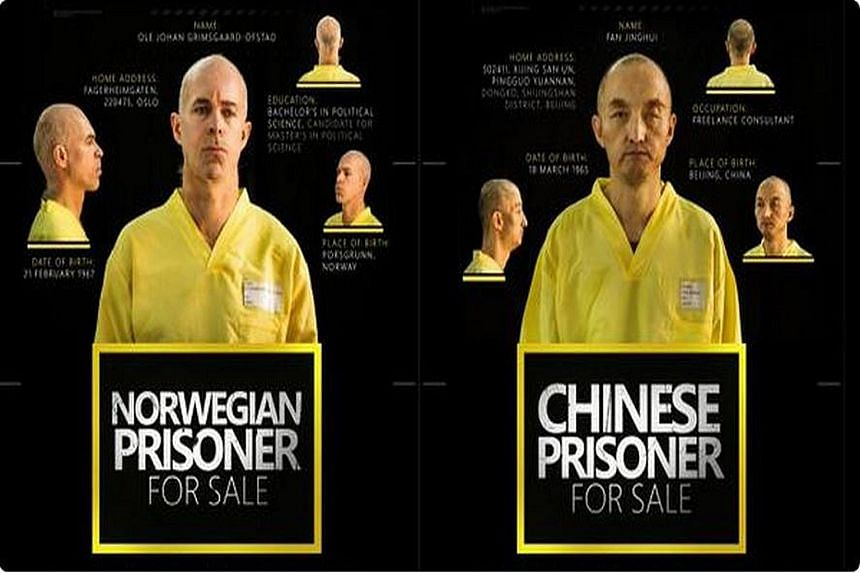 """The Chinese and Norwegian hostages have been advertised """"for sale"""" in the ISIS English-language online magazine Dabiq."""