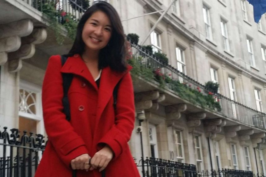 Actress Adelina Ong, 36, who is doing her PhD in applied theatre in London, had just returned from a conference outside of London and headed straight to the High Commission to cast her ballot.