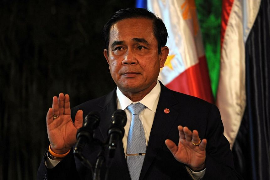 Thailand's Prime Minister Prayut Chan-O-Cha lashed out on Friday (Sept 11) at critics of his military government.