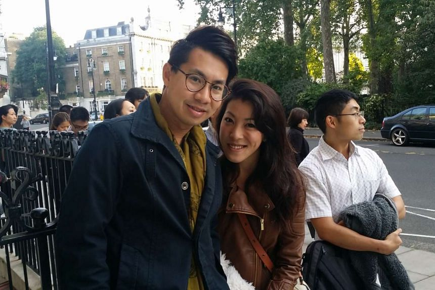 Mr Samuel Chang, 31, a public servant who works in London, and his wife Gerlynn Ho, 27, a housewife, were the first in line to vote at the Singapore High Commission in London. They were there at 7.30am, before they headed for a holiday in Cornwall.