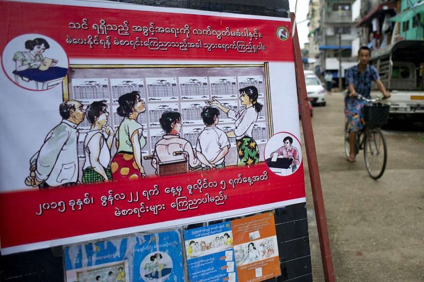 Teams from the NLD and local activist groups have been trying to educate a population devoid of experience in democracy after decades of junta rule.
