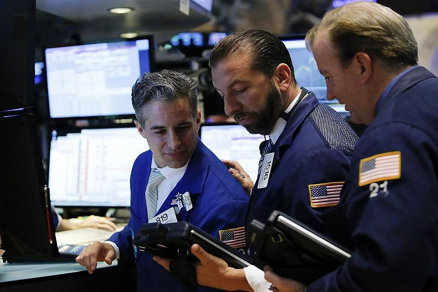 Traders on the main trading floor of the New York Stock Exchange. The months of September and October throughout history have been witness to famous stock market crashes - for example, that following the terrorist attacks on New York's World Trade Ce