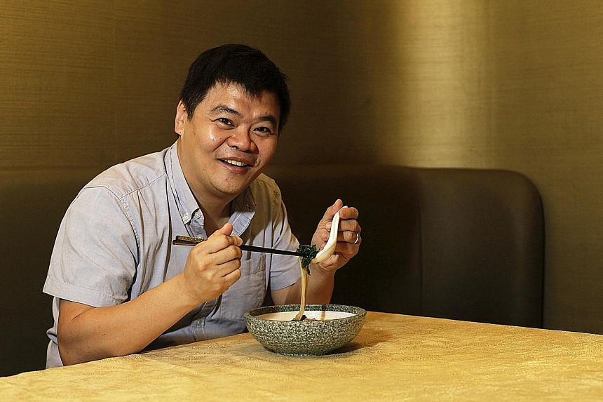 Mr Loh enjoys Japanese food as he likes the freshness of the ingredients.