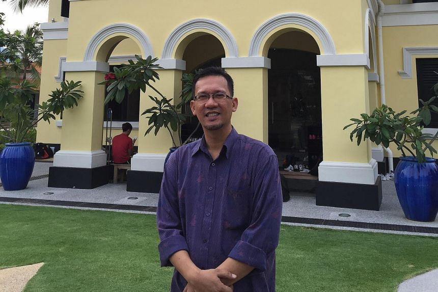 Mr Tengku Shawal, 47, used to slide down the banisters of this former palace, which became the Malay Heritage Centre in 2005.