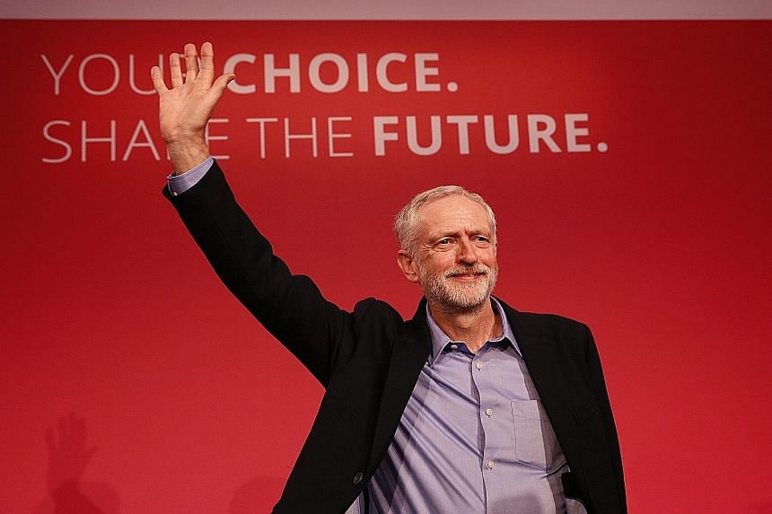 Mr Jeremy Corbyn vowed to fight for justice for the poor and downtrodden, and slammed the Conservative government for burdening the poor.