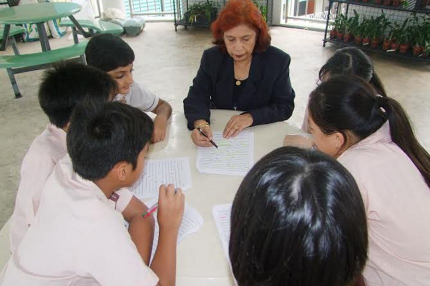 Mrs Nirmala Gosain, 70, an English teacher at Temasek Primary School, is among a growing group of re-employed older workers who do not wish to stop working.