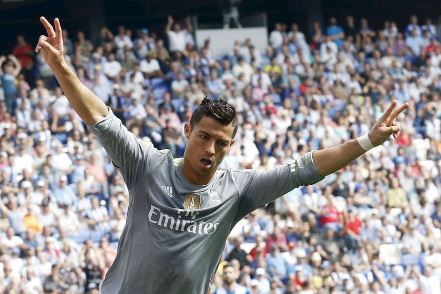 Ronaldo dispelled any doubts over his form.