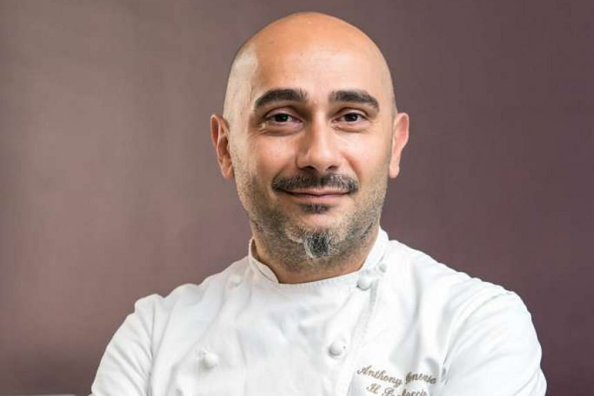 Chef Anthony Genovese (above) of two-Michelin- starred Ristorante Il Pagliaccio will cook dishes such as squid and rabbit with eggplant during Gusto Italiano.