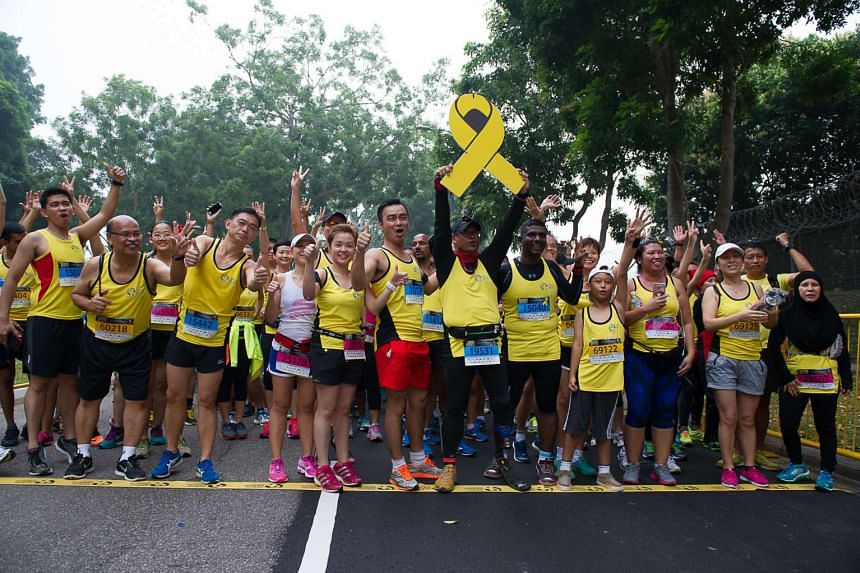 More than 7,500 people signed up for the run.