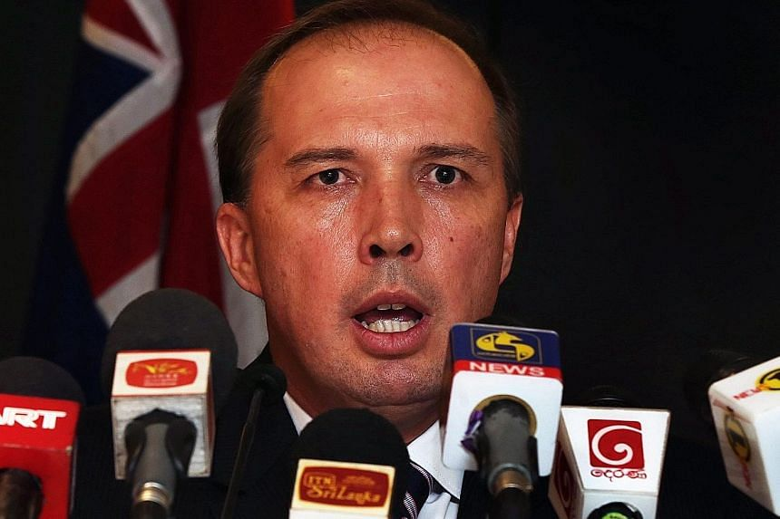 "Australian minister Peter Dutton's ""water lapping at your door"" remark offended Pacific island leaders, whose nations are at high risk from global warming."