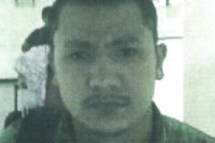 A Royal Thai Police handout photo made available shows a Bangkok bombing suspect identified by police as Chinese national Abu Dustar Abdulrahman.